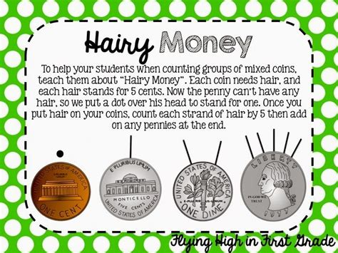 hairy money  great idea  teaching   count mixed