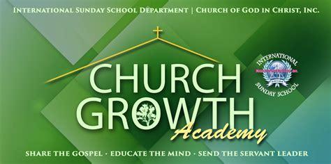 church growth academy international sunday school department