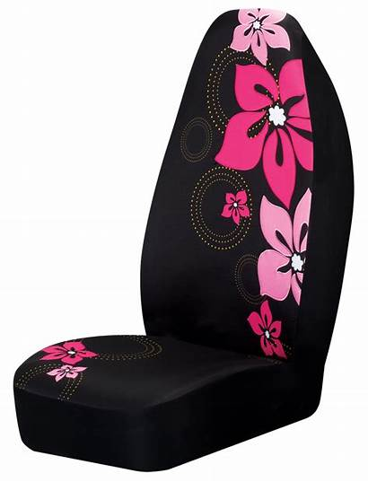 Seat Covers Pink Flower Accessories Cars Girly