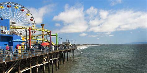 Solar Powered Spot Light by Spotlight Santa Monica Visit California