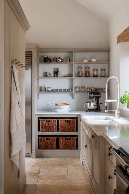 scullery  pantry area  rustic modern kitchen