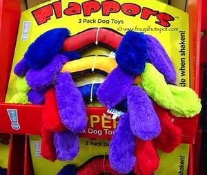 costco sale think dog flappers 3 pack dog toys 699 With think dog toys costco