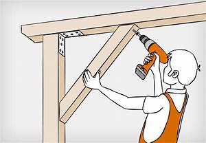 Osb Platten Verschrauben : dachkonstruktion aus holz bauen anleitung von obi ~ Articles-book.com Haus und Dekorationen