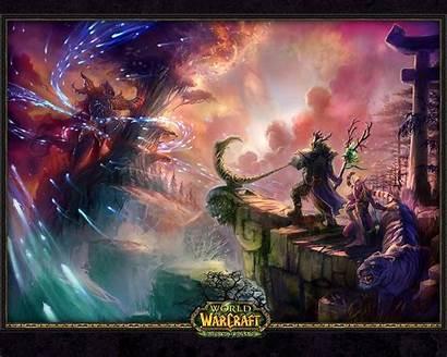 Warcraft Elf Night Nordrassil Background Wallpapers Malfurion