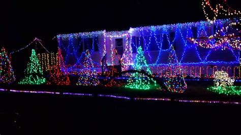 synchronized musical christmas lights youtube