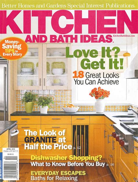 Bob's Blog Better Homes And Gardens Kitchen And Bath Ideas