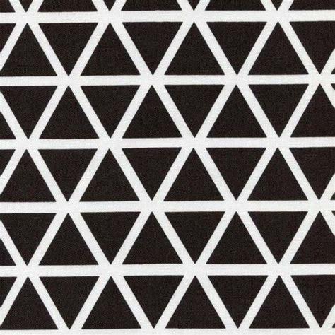 Schwarz Weiß Muster by Stoff Grafische Muster Stoff Dreieick Dreiecke Schwarz