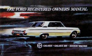 ford galaxie  xl custom country squire factory