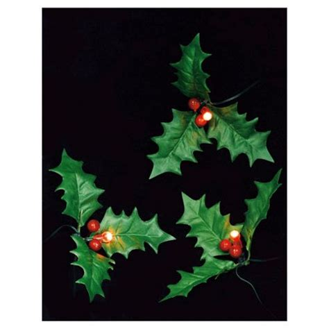 led christmas holly berry lights buy tesco battery operated berry lights 20 from our all range tesco