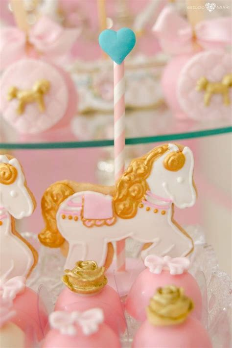 karas party ideas enchanted carousel birthday party