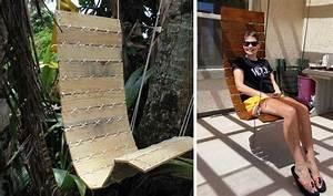 Fauteuil En Palette Facile : tuto un fauteuil suspendu diy fabriquer un si ge suspendu avec des palettes ~ Melissatoandfro.com Idées de Décoration