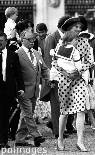 July 23. 1986: HRH Diana, Princess of Wales holding Prince ...