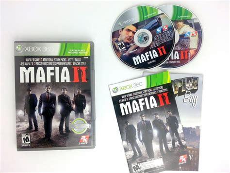 mafia ii game  xbox  complete  game guy