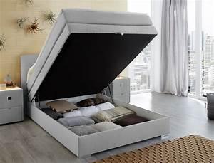 Nachttisch Für Boxspringbett Anthrazit : boxspringbett amalina 140x200 hellgrau nachttisch mit ~ Michelbontemps.com Haus und Dekorationen
