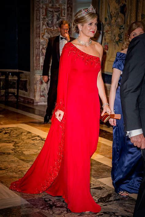 Queen Maxima Stuns Three Different Beautiful Dresses