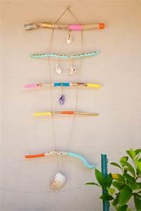 Peinture Effet Bois Flotté : mobile en bois flott joli bonheur un blog en californie ~ Dailycaller-alerts.com Idées de Décoration