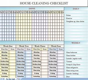 25 best ideas about cleaning schedule templates on With janitorial schedule template