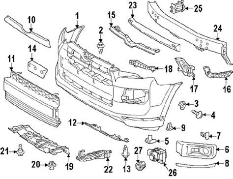 Parts Toyota Runner Bumper Components Oem