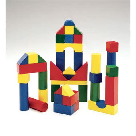 Easy Kitchen Storage Ideas - wooden color blocks 200 pieces
