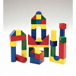 Wooden Color Blocks - 200 pieces