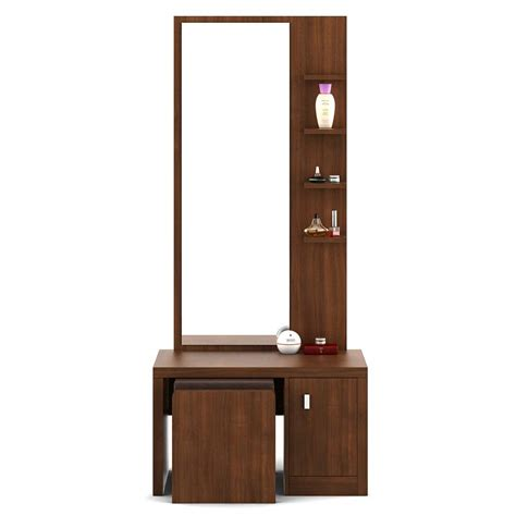 indian dressing table designs with mirror spacewood ciara dresser table with stool walnut rigato Indian Dressing Table Designs With Mirror