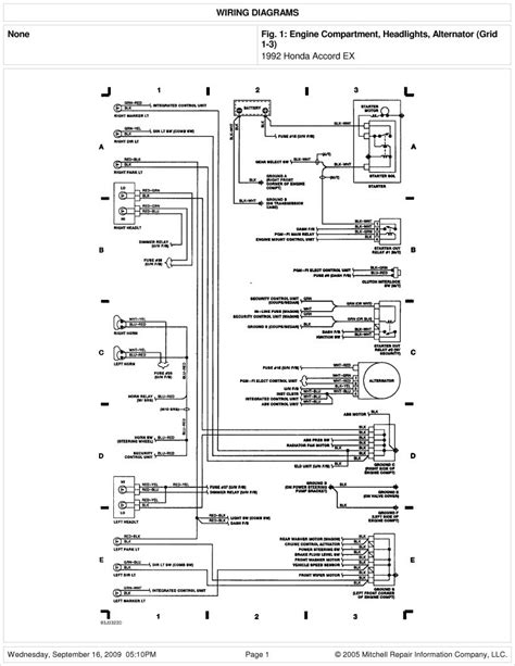 honda element stereo wiring diagram  wiring diagram