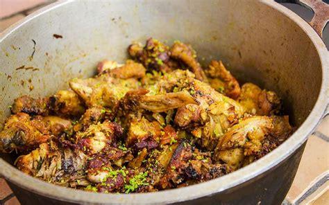 recette cuisine creole reunion recette cari pintade combava