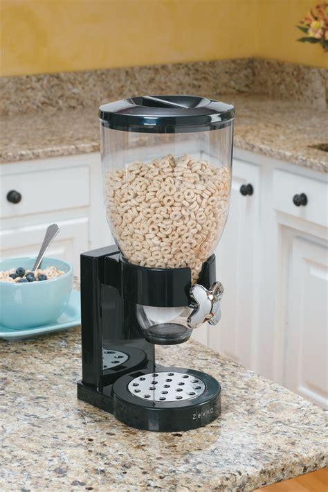 countertop food dispenser black  cereal dispensers