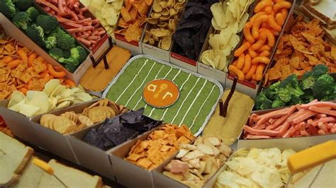 how to make a snack stadium for bowl snack recipes allrecipes youtube