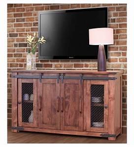 Rustic Barn Door TV Stand, Barn Door TV Stand, Barn Door