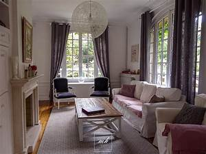 decoration naturelle campagne chic a brunoy mh deco With deco salon campagne chic