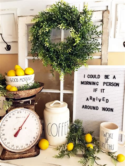 Lemon Decorations For Kitchen - adding lemons to your decor is the trend in summer
