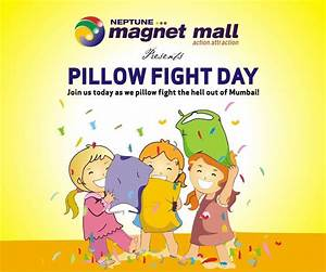 Pillow Fight Day on 6 & 7 April 2013 at Neptune Magnet ...