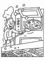 Pizzabakker Mewarna07 sketch template