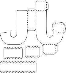 resultado de imagen para moldes de la s letras 3d grandes letras lembrancinha