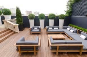 big sofa rund diy sichtschutz für terrassen aus pflanzen 25 inspirationen