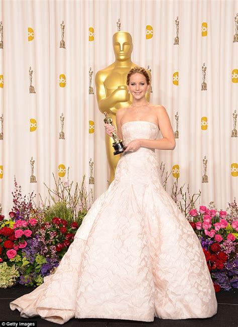 Oscars 2014 Darling Jennifer Lawrence Receives Third Oscar