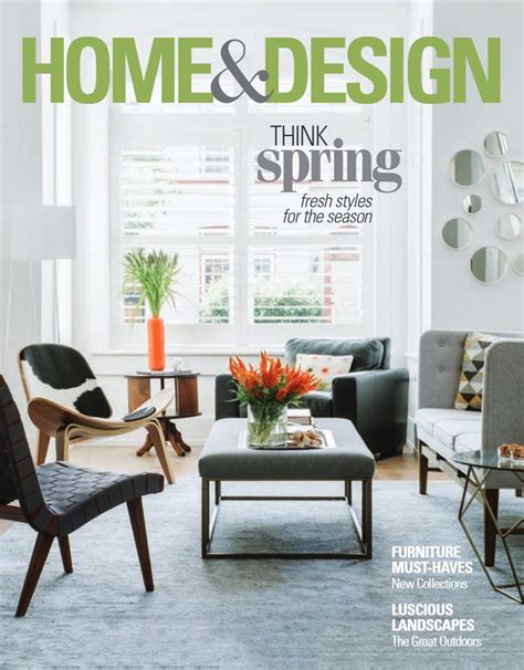 Think Spring With Home And Design Magazine  Interior