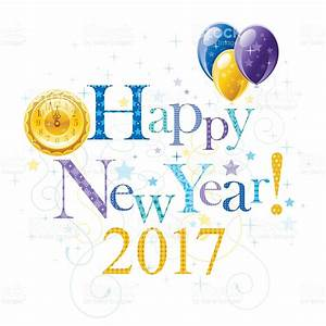 Happy New Year 2017 Holiday Banner Stock Vector Art & More ...