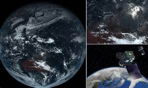 The GREY planet: True colour image reveals what Earth ...