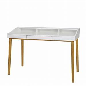 Schreibtisch Eiche Weiß : schreibtisch wei design ~ Michelbontemps.com Haus und Dekorationen