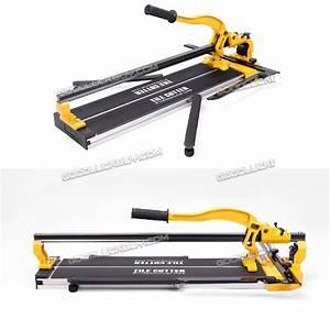 40 U0026quot  Manual Tile Cutter Cutting Machine Durable Adjustable