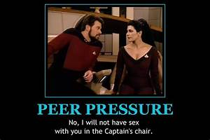 The gallery for --> Peer Pressure Poster