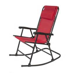 folding rocking chair foldable rocker outdoor patio furniture ebay