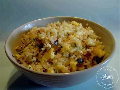 cuisiner le vrai riz frit chinois riz frit au poisson chine la tendresse en cuisine