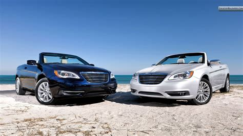 Chrysler 200 Convertible 2011 by Silver Black Chrysler 200 Convertible 2011 Hd Wallpaper