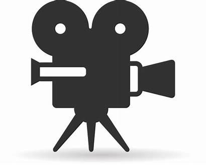 Clip Clipart Camera Icon Screening Transparent Film