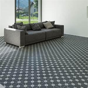 Carreaux De Ciment Adhesif Sol : 9 stickers sol carreaux de ciment thiago anti d rapant ~ Premium-room.com Idées de Décoration