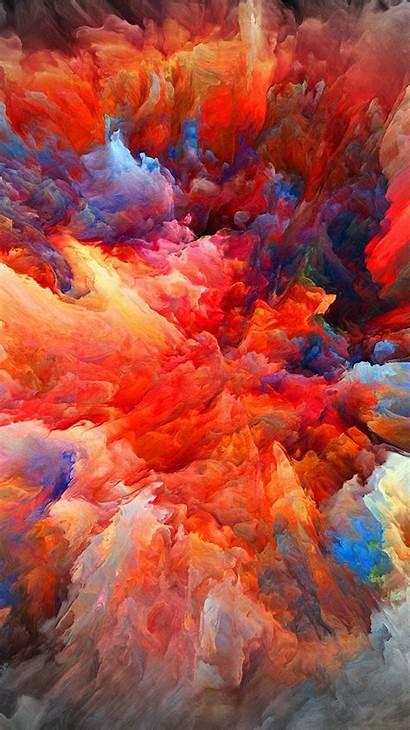 Paint Pattern Explosion Iphone Plus