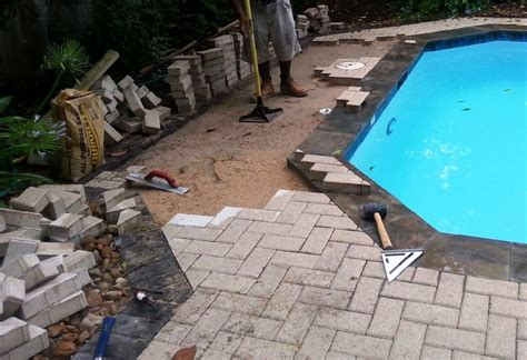 pool pavers repair